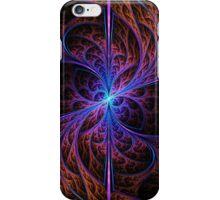Glowing purple fractal art iPhone Case/Skin