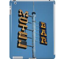Motel / Bar iPad Case/Skin