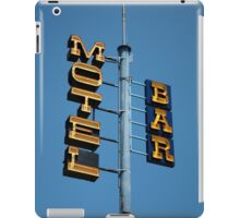 Motel / Bar iPad Case/Skin
