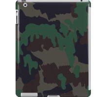 TAZ-90 (Swiss Woodland Camouflage) iPad Case/Skin