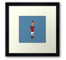 Angel Di María - Manchester United Framed Print