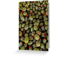 Would you Like a Martini with that Olive? Greeting Card