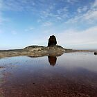 Black Nab- Saltwick Bay by mikebov