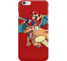 Mario attack iPhone Case/Skin