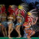 Polynesian Firework by Ken Wright