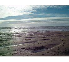 English Beach Photographic Print