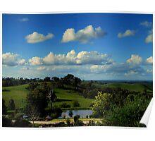 Harcourt Landscapes Poster