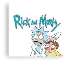 """Rick and Morty """"Look Morty!"""" Canvas Print"""