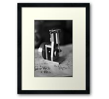 Inlet ... Framed Print