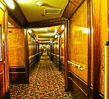 Queen Mary Corridor  by kuumbalion