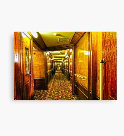 Queen Mary Corridor  Canvas Print