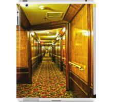 Queen Mary Corridor  iPad Case/Skin