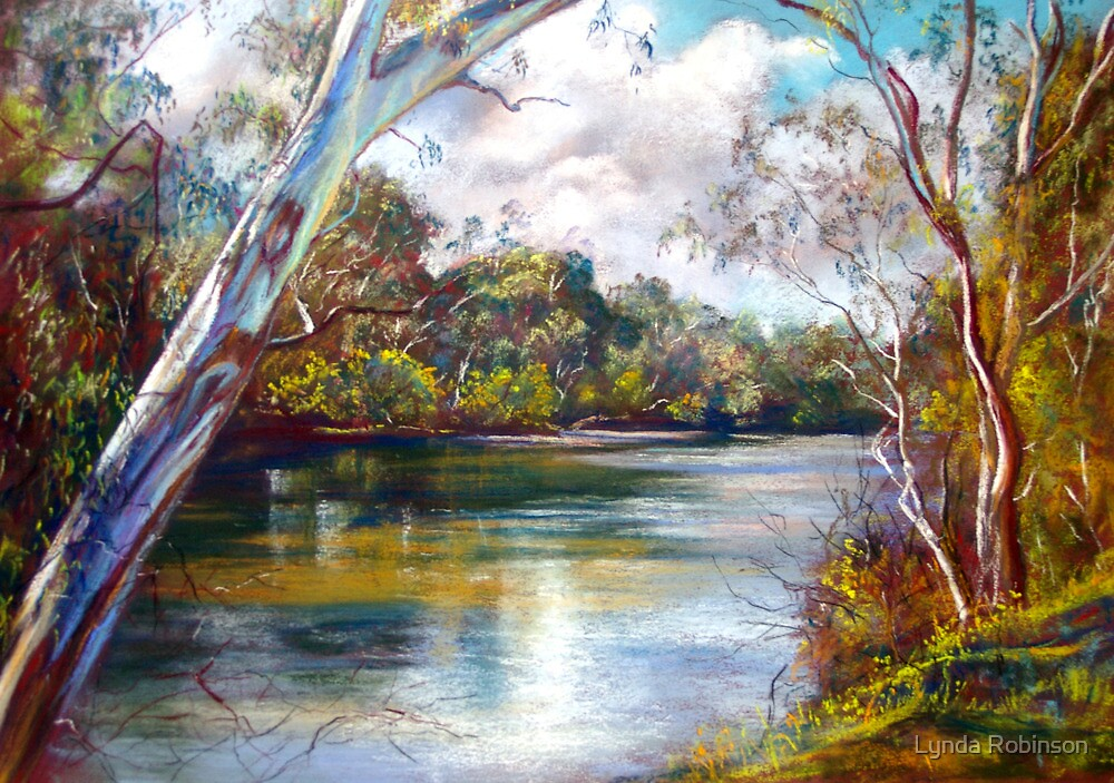 Spring Afternoon - Goulburn River by Lynda Robinson
