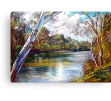 Spring Afternoon - Goulburn River Canvas Print