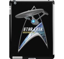 StarTrek Command Silver Signia Enterprise 1701  2 iPad Case/Skin