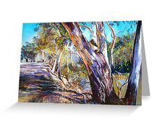 Banks of the Goulburn Greeting Card