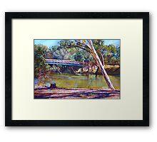 The Historic Goulburn Bridge - Seymour Framed Print