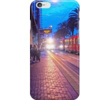 San Diego Trolley Stop iPhone Case/Skin