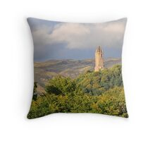 Wallace Monument,Stirling,Scotland Throw Pillow