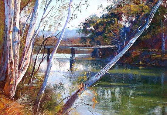 'A Glimpse of Goulburn Bridge' by Lynda Robinson