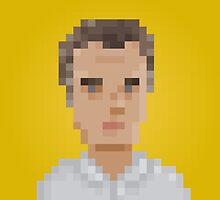 Mauricio Macri by pixelfaces
