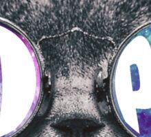 Pi Phi Cat Eye Galaxy Sticker