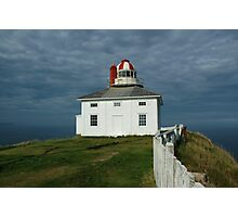 Old Cape Spear Lighthouse Photographic Print