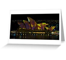 The Leopard - Sydney Opera House - Australia Greeting Card