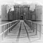 Bodiam Castle, East Sussex, England (2) by Bob Culshaw