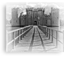 Bodiam Castle, East Sussex, England (2) Canvas Print