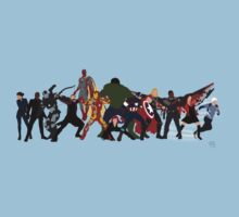 Avengers Assemble by alannamode