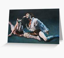 Manon  Alessandra Ferri and Julio Bocca. Greeting Card