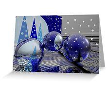 A magical Christmas Greeting Card