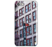 San Diego Plaza Hotel iPhone Case/Skin