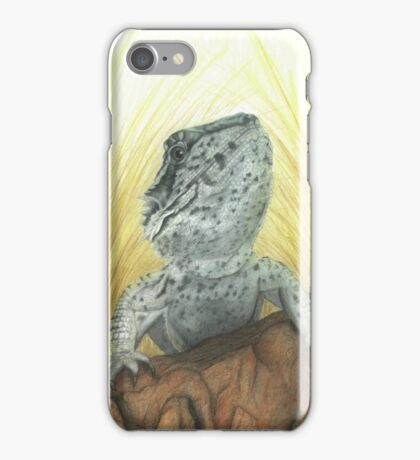 Osiris the Western Bearded Dragon iPhone Case/Skin