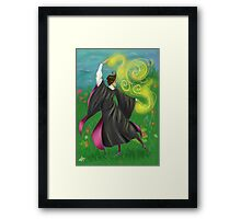 You're a wizard Manolo Framed Print
