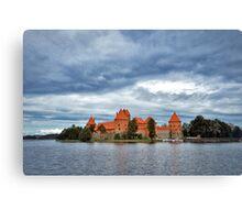 Trakai Island Castle  Canvas Print