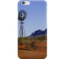 Wind Pump in the Australian Outback iPhone Case/Skin