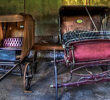 Unused Horse Buggies by Scott Sheehan