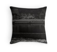 In time, we all fall Throw Pillow