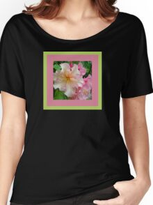 Ruffled Rhododendron Blossoms Women's Relaxed Fit T-Shirt