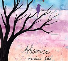 Absence makes the heart grow fonder by klbailey