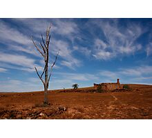 Ruined Farmhouse in the Australian Outback Photographic Print
