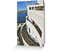 Queen Mary Layers Greeting Card