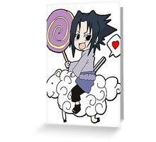 Naruto: Sasuke Chibi Greeting Card