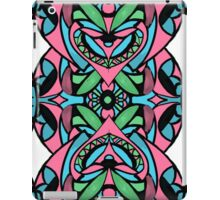 Red blue green pattern iPad Case/Skin