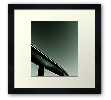In the corner of my eye Framed Print