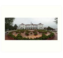 The Stanley Hotel Art Print