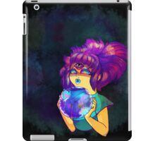 Psychic Girl With Crystal Ball iPad Case/Skin