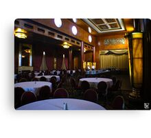 Queen Mary Lounge Canvas Print